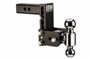 "B&W Hitches - B&W Trailer Hitches Class V 2 1/2"" Receiver Tow & Stow 8"" Model 5"" Drop 5.5"" Rise 2"" & 2 5/16"" Balls 