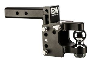 "B&W Hitches - B&W Trailer Hitches Class V 2 1/2"" Receiver/Pintle Tow & Stow 8.5"" Drop 4.5"" Rise w/ 2 5/16"" Ball 