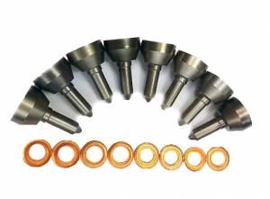 "Dynomite Diesel Products - Dynomite Diesel Products Injector Nozzle Set ""Super Mental"" Custom HP 