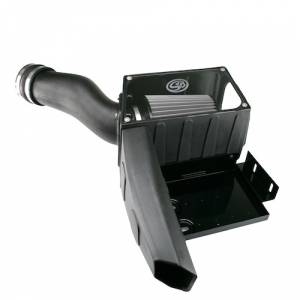 S&B Filters - S&B Filters Cold Air Intake Kit (Dry Disposable Filter) | SAB75-5028D | 1998-2003 Ford Powerstroke 7.3L