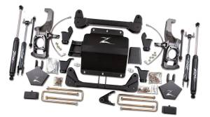 "Zone Offroad - Zone Offroad 5"" Suspension Lift Kit w/ Top Overload 