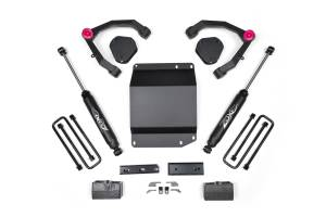 "Zone Offroad - Zone Offroad 3.5"" UCA System Lift Kit 