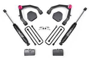 """Zone Offroad - Zone Offroad 3.5"""" UCA Suspension Lift Kit   ZORC30   2007-2013 Chevy/GMC 1500 (2WD)"""