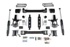 """Zone Offroad - Zone Offroad 4.5"""" Suspension Lift Kit w/ Aluminum Arms 