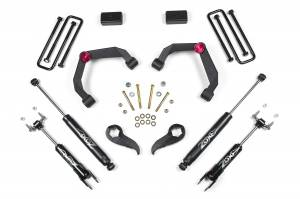 """Zone Offroad - Zone Offroad 3"""" UCA Suspension Lift Kit w/o Overloads 