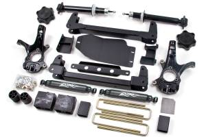 "Zone Offroad - Zone Offroad 4.5"" Suspension Lift Kit w/ Nitro Shocks 