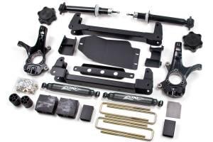"Zone Offroad - Zone Offroad 4.5"" Suspension Lift Kit w/ Nitro Shocks | ZORC9N | 2007-2013 Chevy/GMC 1500 (2WD)"