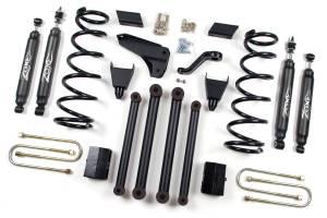 "Zone Offroad - Zone Offroad 5"" Suspension Lift Kit w/ Nitro Shocks | ZORD16N | 2010-2012 Dodge Ram HD (4WD)"
