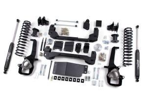 "Zone Offroad - Zone Offroad 5"" Suspension Lift Kit w/ Nitro Shocks | ZORD19N | 2012 Dodge Ram 1500 (4WD)"