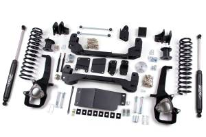 "Zone Offroad - Zone Offroad 4"" Suspension Lift Kit w/ Nitro Shocks | ZORD23N | 2009-2011 Dodge Ram 1500 (4WD)"