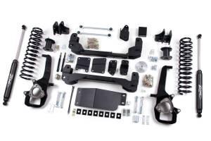 "Zone Offroad - Zone Offroad 6/3"" Suspension Lift Kit w/ Nitro Shocks | ZORD40N | 2013+ Dodge 1500"