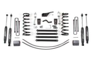 "Zone Offroad - Zone Offroad 5"" Suspension Lift Kit 