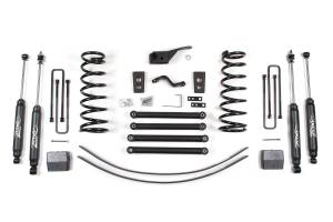 "Zone Offroad - Zone Offroad 5"" Suspension Lift Kit w/ Nitro Shocks 