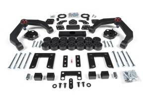"""Zone Offroad - Zone Offroad 4"""" Combo Lift Kit   ZORD60   2009-2011 Dodge 1500"""