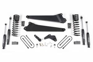 "Zone Offroad - Zone Offroad 4"" Replacement Radius Arm Kit w/ Nitro Shocks 