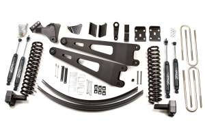 "Zone Offroad - Zone Offroad 6"" Suspension Lift Kit w/ Overload Springs 