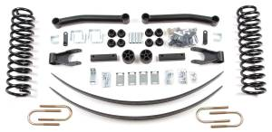 "Zone Offroad - Zone Offroad 4.5"" Suspension Kit 