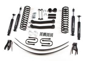 "Zone Offroad - Zone Offroad 4.5"" Suspension Kit w/ Nitro Shocks 