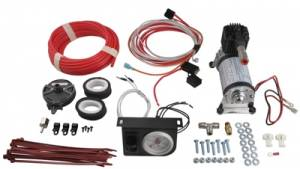 Firestone Industrial Products - Firestone Air Command System w/ Single Path White Gauge | FIR2158 | Universal Fitment