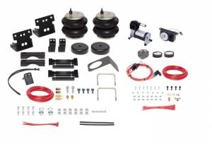 Firestone Industrial Products - Firestone Ride-Rite All-in-One Air Bag Complete Kit (Analog) | FIR2809 | 2001-2010 Chevy/GMC HD