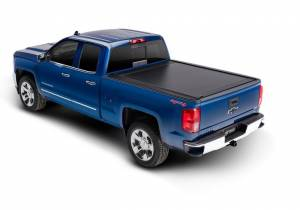 Retrax Retractable Bed Covers - Retrax PowertraxONE MX 6.5ft Bed w/o Stake Pocket Cutout | RTX70462 | 2014-2018 Chevy/GMC