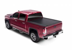 Retrax Retractable Bed Covers - Retrax PowertraxONE MX 6.5ft Bed w/ Stake Pocket Cutout | RTX70466 | 2014-2018 Chevy/GMC