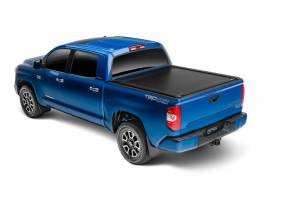 Retrax Retractable Bed Covers - Retrax PowertraxONE MX Double Cab 6.5ft Bed w/ Deck Rail w/o Stake Pocket Cutout | RTX70842 | 2007-2018 Toyota Tundra