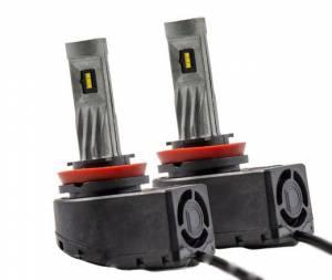 Diode Dynamics - Diode Dynamics H9 SL1 LED HEADLIGHT ( PAIR) | DDYDD0220P | Universal Fitment