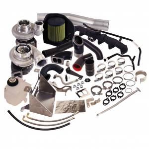 BD Diesel - BD Diesel Cobra Compound Turbo Kit S467SX / S488SX-E | BD1045798 | 2013-2018 Dodge Cummins 6.7L