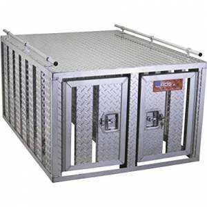 RDS Aluminum - RDS Aluminum Dog Box - Two Door | RDS70526 | Universal Fitment