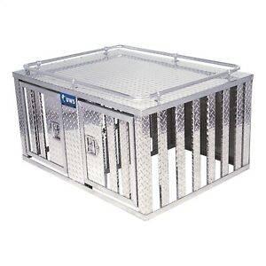 RDS Aluminum - RDS Aluminum Dog Box - One Door | RDS70700 | Universal Fitment
