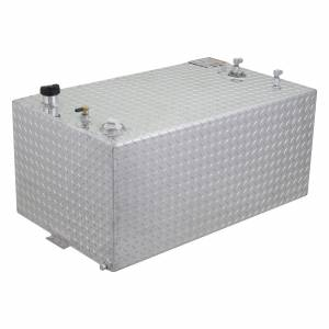 RDS Aluminum - RDS Aluminum 55 Gallon Rectangular Liquid Transfer Tank | RDS71110 | Universal Fitment