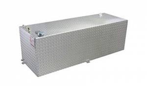 RDS Aluminum - RDS Aluminum 60 Gallon Rectangular Liquid Transfer Tank | RDS71212 | Universal Fitment