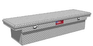 RDS Aluminum - RDS Aluminum Low Profile Deep Crossover Tool Box | RDS71531 | Universal Fitment