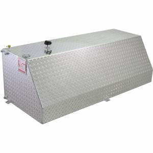 RDS Aluminum - RDS Aluminum 63 Gallon Wedge Liquid Transfer Tank | RDS71783 | Universal Fitment
