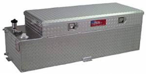 RDS Aluminum - RDS Aluminum 60 Gallon Combo Liquid Transfer Tank | RDS71787 | Universal Fitment