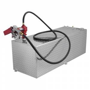 RDS Aluminum - RDS Aluminum 91 Gallon Rectangular Liquid Transfer Tank | RDS71791 | Universal Fitment