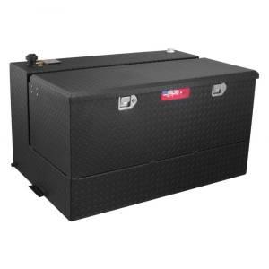 RDS Aluminum - RDS Aluminum 95 Gallon L-Shaped Combo Transfer Liquid Tank-Black | RDS72367PC | Universal Fitment