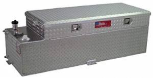 RDS Aluminum - RDS Aluminum 60 Gallon Combo Liquid Transfer Tank | RDS72548 | Universal Fitment