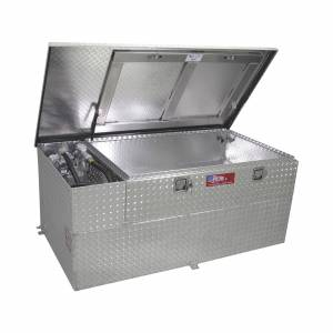 RDS Aluminum - RDS Aluminum 60 Gallon Combo Liquid Transfer Tank w/ 8GMP Pump | RDS73326 | Universal Fitment