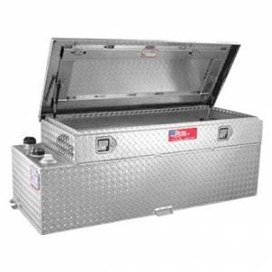 RDS Aluminum - RDS Aluminum 50 Gallon Combo Liquid Transfer Tank | RDS74026 | Universal Fitment