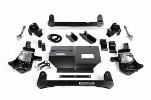 "Cognito Motorsports - Cognito Motorsports 4""/6"" Non-Torsion Bar Drop Front Suspension Lift Kit 4WD | COG110-K0500 | 2011+ Chevy/GMC Duramax LML/L5P"