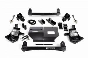 "Cognito Motorsports - Cognito Motorsports 4""/6"" Non-Torsion Bar Drop Front Suspension Lift Kit 2WD | COG110-K0501 | 2011+ Chevy/GMC Duramax LML/L5P"