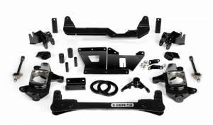 "Cognito Motorsports - Cognito Motorsports 4""/6"" Non-Torsion Bar Drop Front Suspension Lift Kit 4WD | COG110-K0502 | 2001-2010 Chevy/GMC Duramax LB7/LLY/LBZ/LMM"