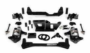 "Cognito Motorsports - Cognito Motorsports 4""/6"" Non-Torsion Bar Drop Front Suspension Lift Kit 2WD 