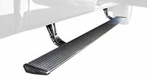 AMP Research - Innovation in Motion - Amp Research Powerstep Black with OEM style illumination Mercedes-Benz Sprinter 07-16