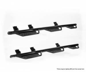 Ranch Hand - Ranch Hand Wheel to Wheel Step Bars (6 Step) 5.5ft Bed | RNHRSC19HC5B6 | 2019 Chevy/GMC 1500