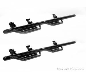 Ranch Hand - Ranch Hand Wheel to Wheel Step Bars (4 Step) 6.4ft Bed | RNHRSD101C6B4W | 2010-2016 Dodge Ram HD