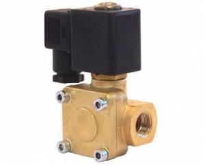 """Kleinn - Kleinn VX6004    Vortex 6 12v Brass Air Valve - 1/2"""" F NPT inlet, 1/2"""" F NPT outlet"""