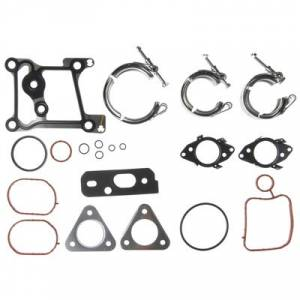 Mahle North America - MAHLE Turbocharger Mounting Gasket Set | MCIGS33692 | 2011-2014 Ford Powerstroke 6.7L